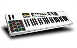 M-Audio Code 49 | Keyboard Controller - Anschlagdynamischer USB/MIDI-Controller mit Touchpad - 1