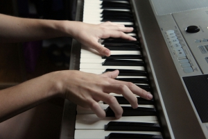 Keyboards mit Anschlagdynamik