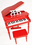 MPM Kinder Piano inkl. Hocker in Rot