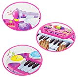 Kinder Piano / Keyboard mit Hocker und Mikrofon - 2