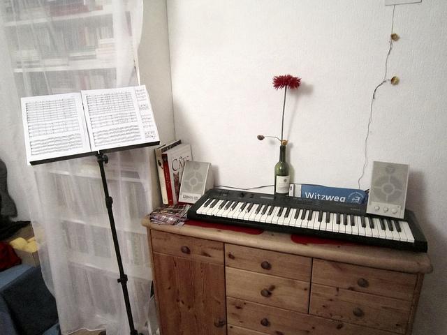 Keyboard Test: Auch im Wohnzimmer kann Keyboard gespielt werden