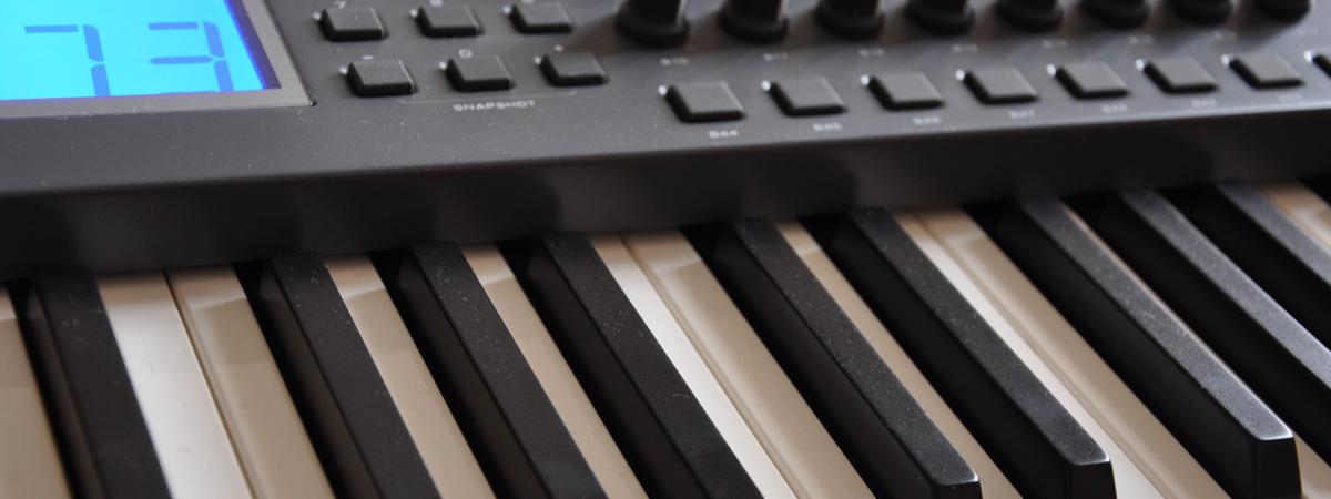 Midi Keyboard - Klaviatur und Funktionstasten